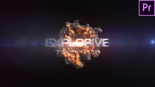 Videohive - Quick Explosion Title