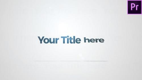Videohive - Welcome Title
