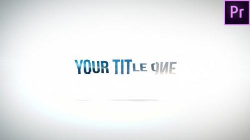 Videohive - Clean Rotation Title