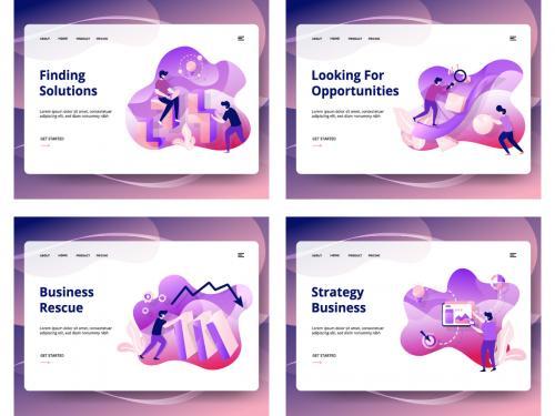 Set of web page design templates - set-of-web-page-design-templates-11f2adc5-7fe1-4224-98b5-e975941876ef
