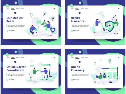 Set of web page design templates - set-of-web-page-design-templates-18df1eae-4d17-4125-aa2c-12ead2c36c08