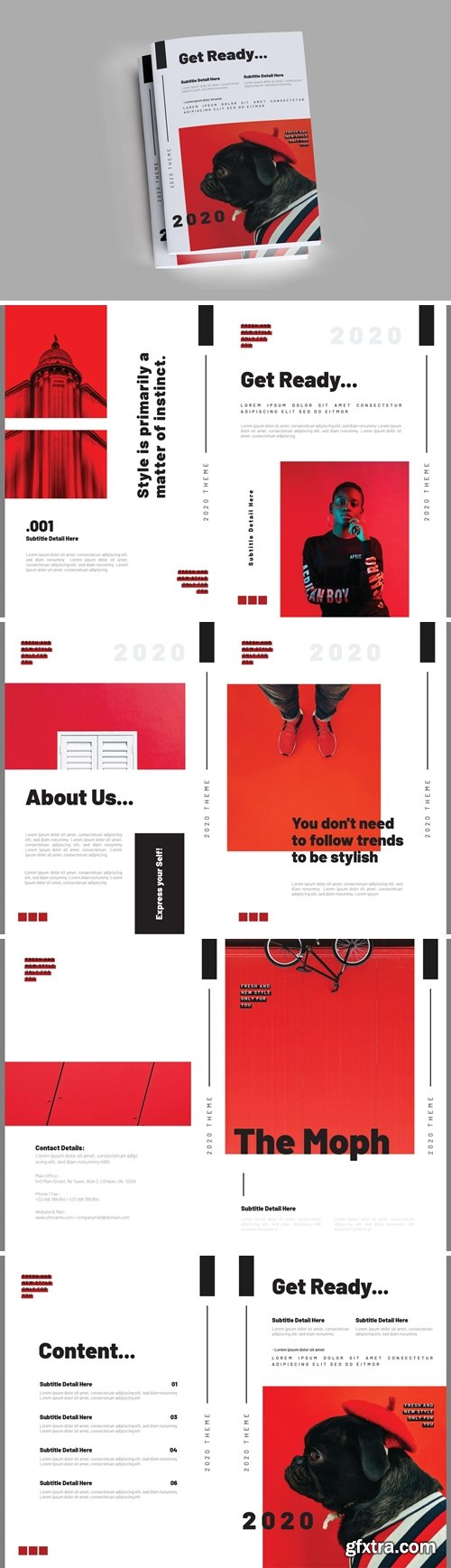 The Morph Brochure Template