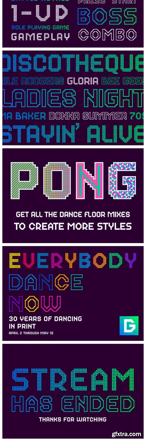 Dance Floor Mix 33 Font