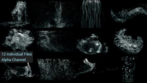 Videohive - Water Splash Pack 4