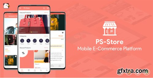 CodeCanyon - PS Store ( Mobile eCommerce App for Every Business Owner ) v2.2 - 23841949