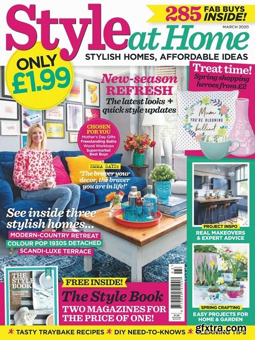 Style at Home UK - March 2020