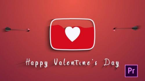 Videohive - Valentines Day (Youtube Logo)