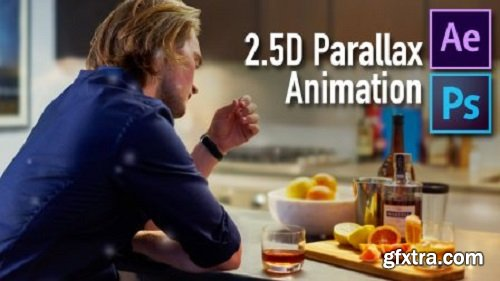 BRING YOUR PHOTOS TO LIFE using 2.5D Parallax Animation