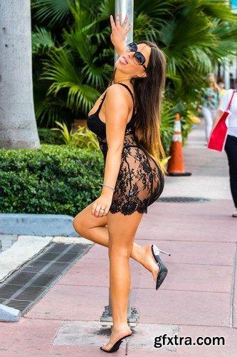 Claudia Romani - Miami, December 29, 2019