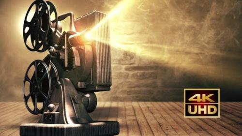 Videohive - Old Film Projector