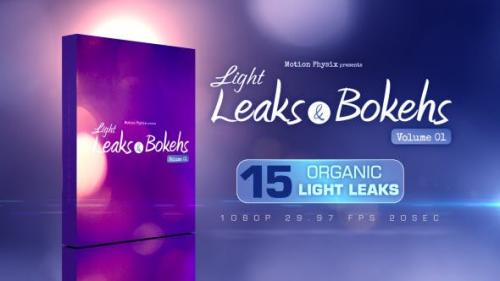 Videohive - Light Leaks and Bokehs Vol 1