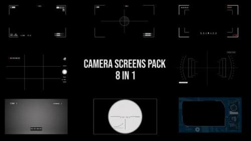 Videohive - Camera Screen Pack - 8 in 1