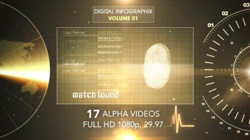 Videohive - Digital Infographix Vol 1