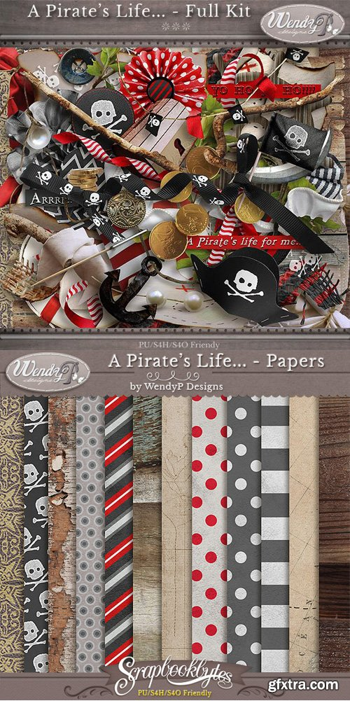 Scrap Kit - Pirate`s Life