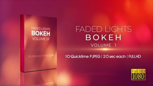 Videohive - Faded Lights Bokeh V1