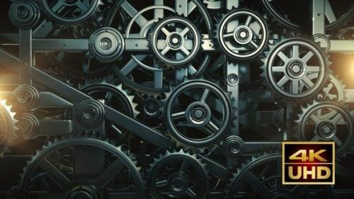 Videohive - Mechanical Gears