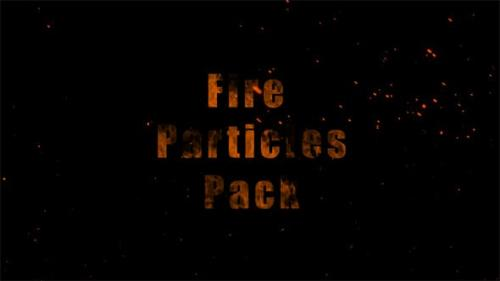 Videohive - Fire Particles Pack