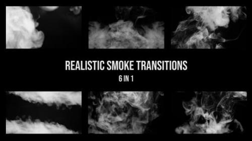 Videohive - Realistic Smoke Transition