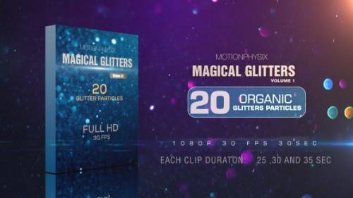 Videohive - Magical Glitters Vol 1