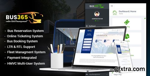 CodeCanyon - Bus365 v5.2 - Bus Reservation System with Website - 20891350 - NULLED