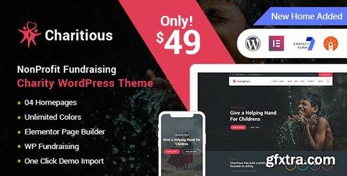ThemeForest - Charitious v2.4.3 - NonProfit Fundraising Charity WordPress Theme - 21872754