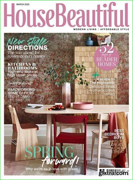 House Beautiful UK - March 2020