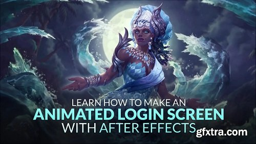 Learn how to make an Animated Login Screen with After Effects
