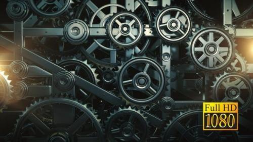 Videohive - Mechanical Gears