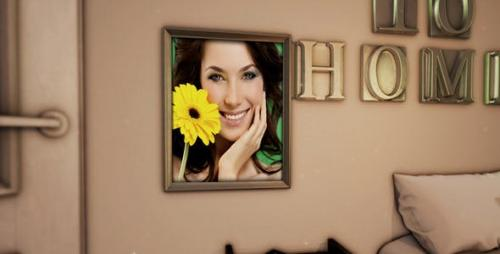 Videohive - Morning Home Photo Gallery