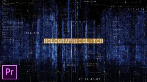 Videohive - Holographic City Opener - Premiere Pro