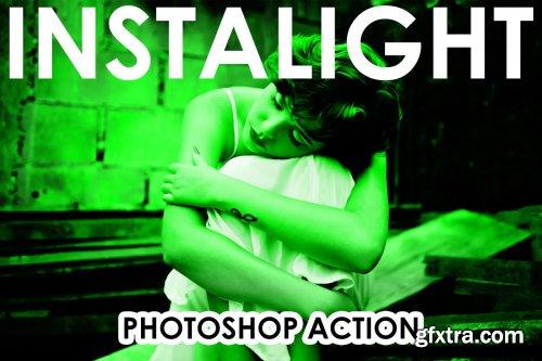 CreativeMarket - InstaLight Photoshop Actions 4320526