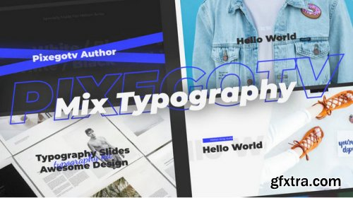 Mix Typography - After Effects 346319