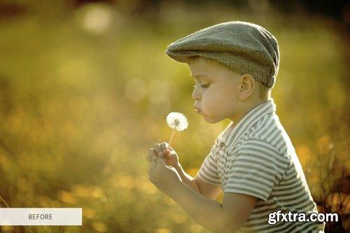 CreativeMarket - Light Flare Photoshop Overlays 4298685