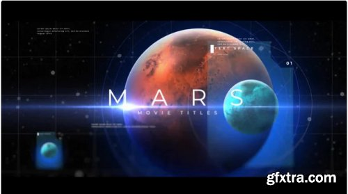Mars Movie Titles - After Effects 346215