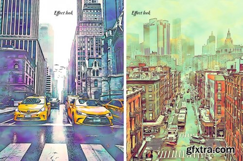 CreativeMarket - Digital Painting Photoshop Action 4405590