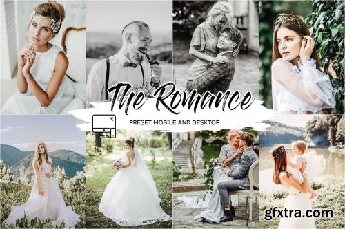 CreativeMarket - THE ROMANCE LIGHTROOM PRESETS 4433588