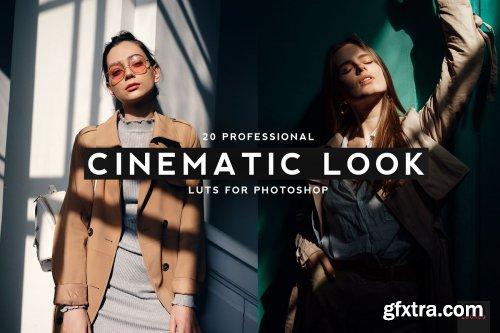 CreativeMarket - 20 Professional Cinematic Look LUTS 4436129