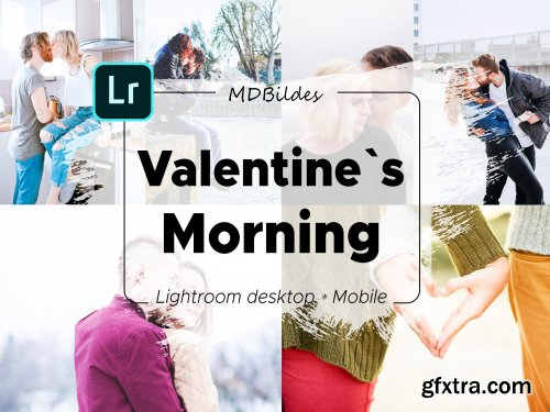 CreativeMarket - 5 Lightroom Presets, Valentines Day 4423211