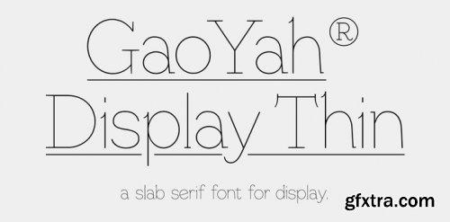GaoYah Display Thin