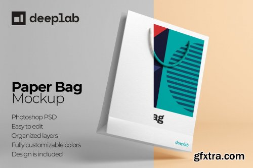 CreativeMarket - Paper Bag Mockup - 10 Sets 4429120