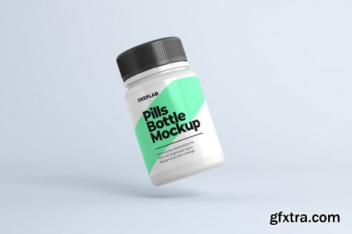 CreativeMarket - Medical Pill Bottle Mockup - 11 set 4429056