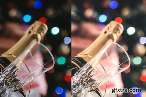 CreativeMarket - 5 Lightroom Presets, New Year Party 4424549