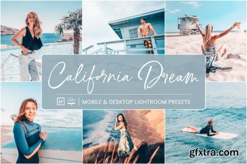 CreativeMarket - Lightroom Presets California Dream 4420394
