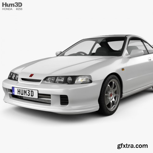 Honda Integra Type-R coupe 1995 3D model