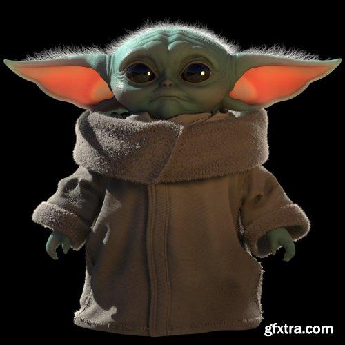 Gumroad - Creating Baby Yoda