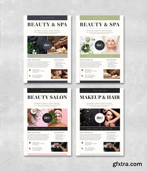 Beauty and Spa Flyer Layout 315707217