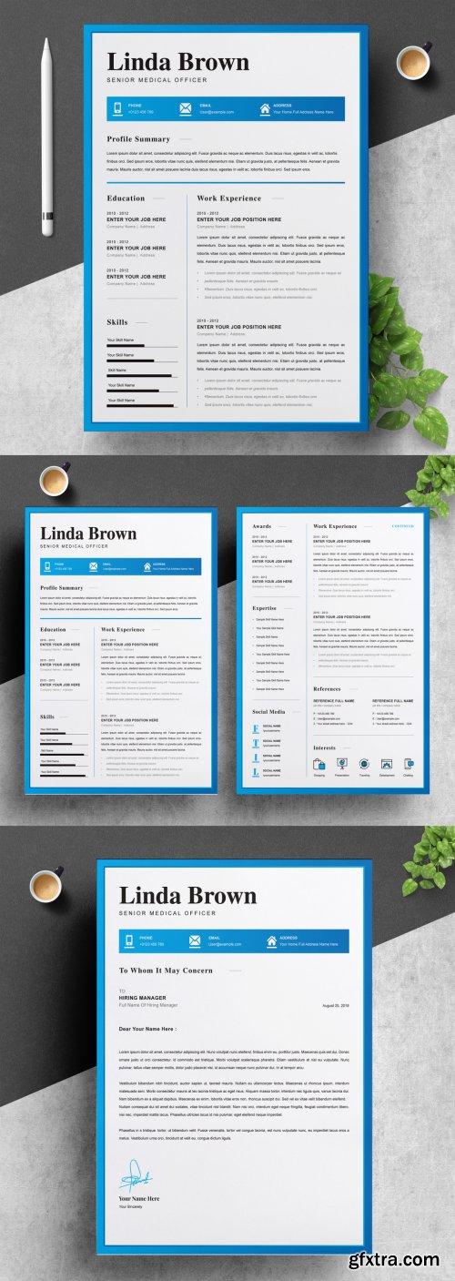 Resume and CV Layout 316254787
