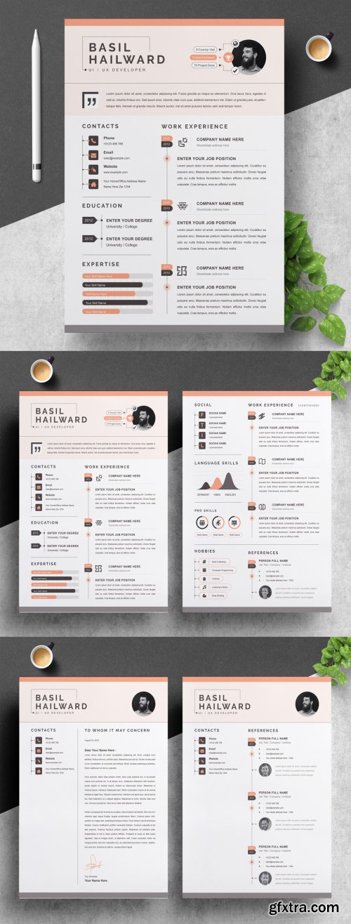 Infographic Resume Template 316254774
