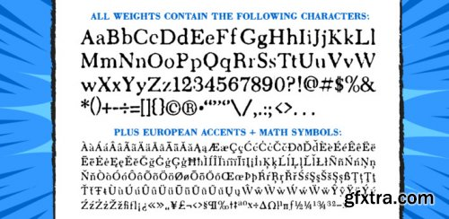 Letterhack Serif Complete Family