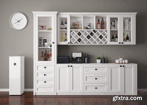 Wine Cabinet / Kitchen Utensils